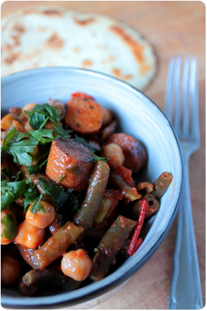 Mean Green Chipotle Beans - Cowboystyle!