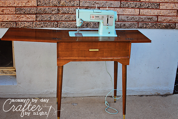 machines vintage table machine sewing tables repurposed