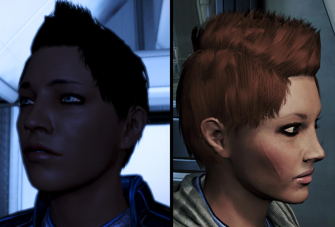 What New Hairstyles Do You Expect Or Want For Mass Effect 3