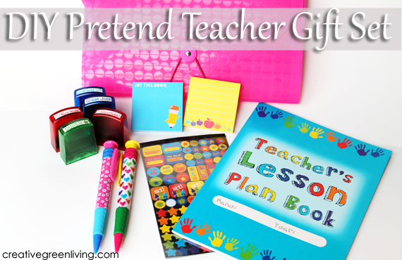 Toys For Teachers : How to make a diy pretend teacher kit creative green living