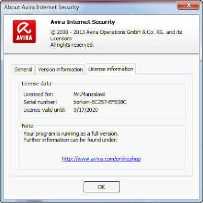 Avira Internet Security 14.0.1.719