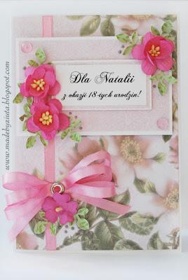 scrapbooking kartka urodziny imienieny card making