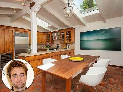 dapur rapi robert pattinson