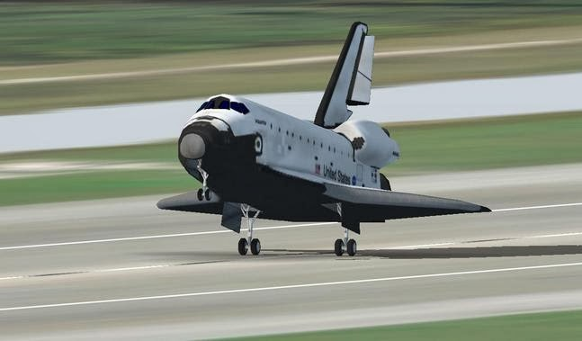 F-Sim Space Shuttle v2.4.093 Apk Download
