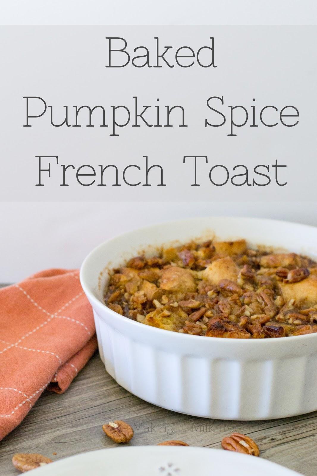 #glutenfree #dairyfree #frenchtoast #breakfast #pumpkinspice