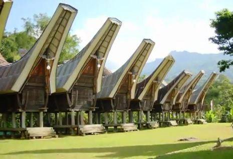 Rumah Tongkonan Torajan House Intimate Indonesia