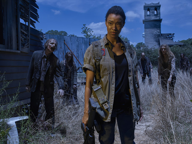 Sonequa Martin Green como Sasha – The Walking Dead _ temporada 6, Gallery – Photo Credit: Frank Ockenfels 3/AMC