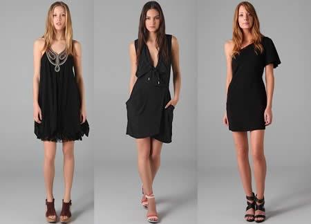Accesorios vestido de fiesta negro