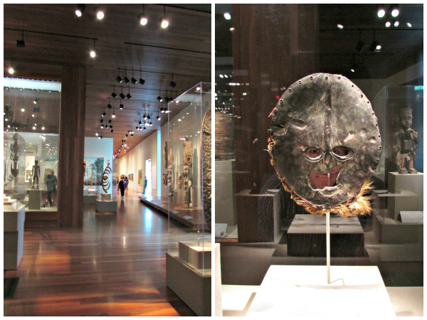 de Young Museum // African Art Exhibit & Face Mask
