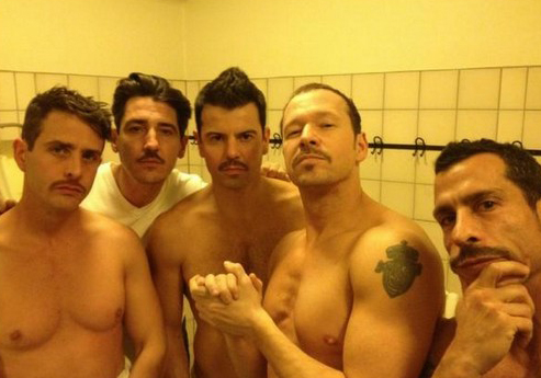 Donnie Wahlberg Tweets Shirtless NKOTB Picture » Gossip | Donnie Wahlberg