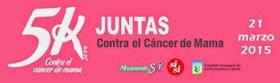 5k Si Si para mujeres contra el cáncer de mama (Canteras, 21/mar/2015)