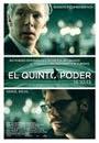 Imagen oficial de la película 'El Quinto Poder'