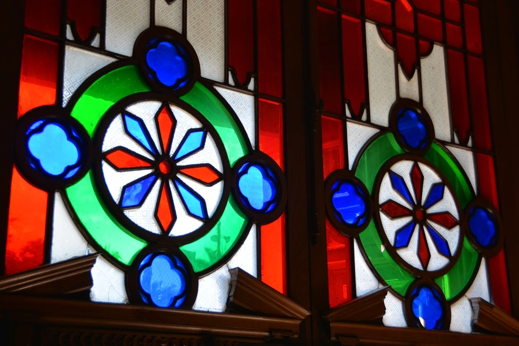 Cathedral of Santiago de Chile stained glass