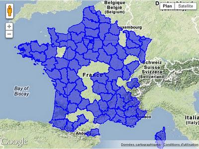 la france sur grippenet_fr le 26 janvier 2012