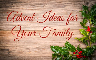 advent ideas for family with toddlers and prek