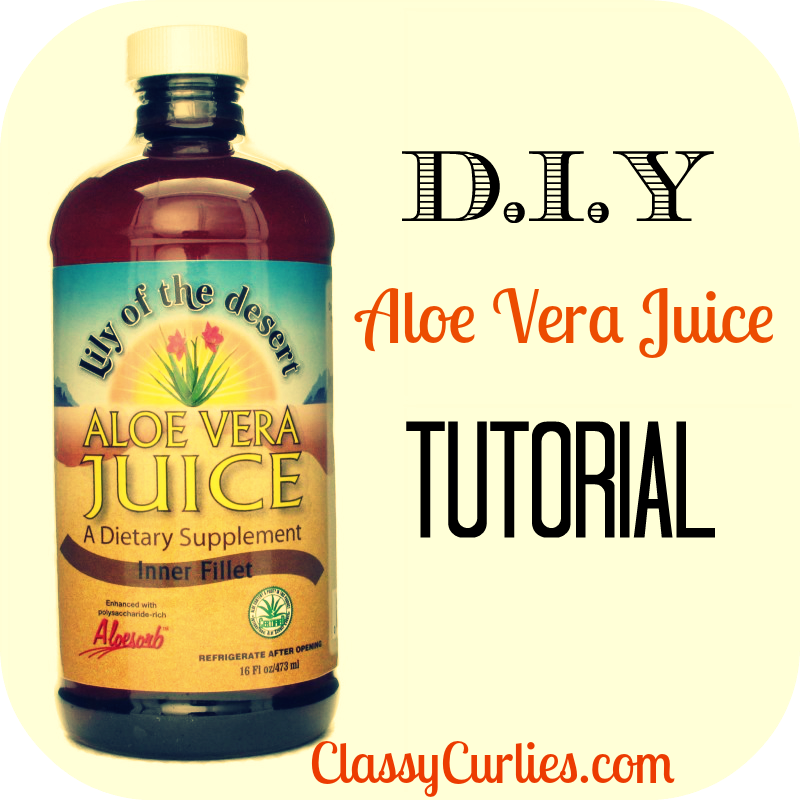 how to make the perfect alovera juice