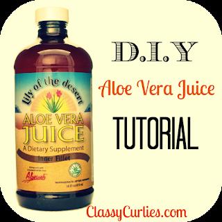D.I.Y. Aloe Vera Juice Tutorial
