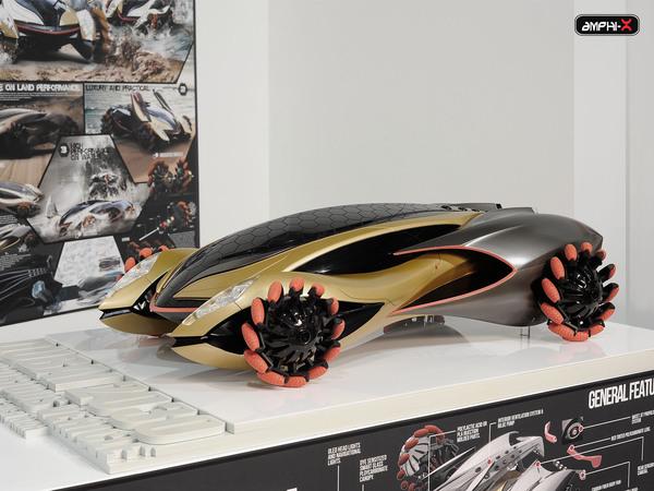 amphibi car model