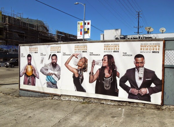 Survivor's Remorse season 1 posters