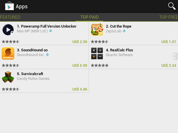 Google play store top paid apps in Egypt