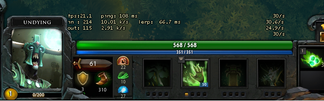 How To Check Ping And FPS In Dota 2 Lancraft