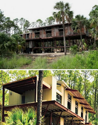 Raised Home From Hurricanes, Brush Fires & Floods