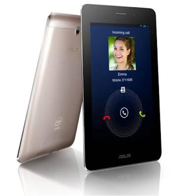 Referensi ASUS Fonepad Tablet 7 Inci dengan Fungsi Telepon Untuk Bikers