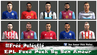 PES 2013 EPL Face-Pack By Ben Ameur