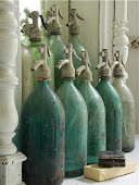 Gamle sifon flasker
