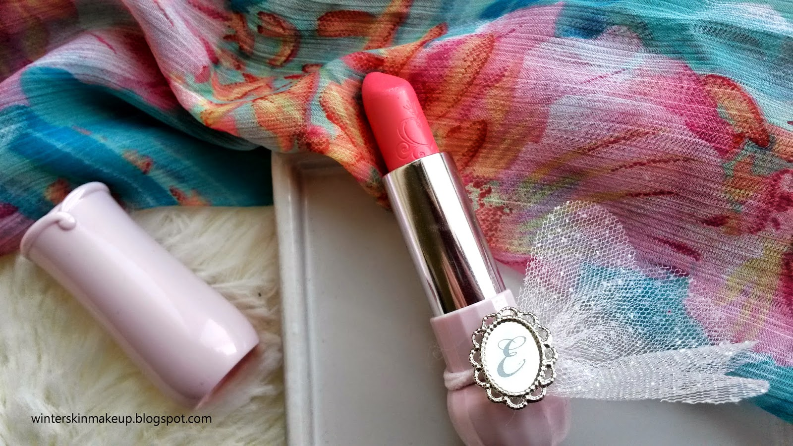 Etude House Dear My Blooming Lips Talk - Etude Pink Review