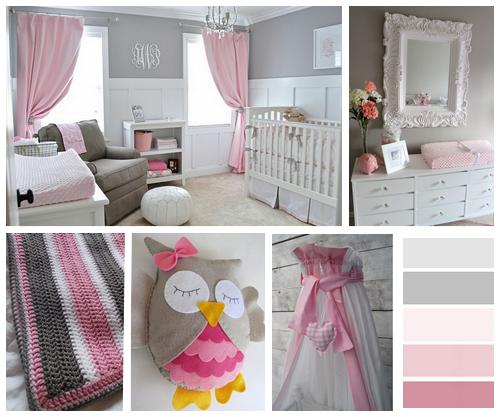Inspiratie baby girls room kersenbloesems - Ruimte van het meisje verf idee ...
