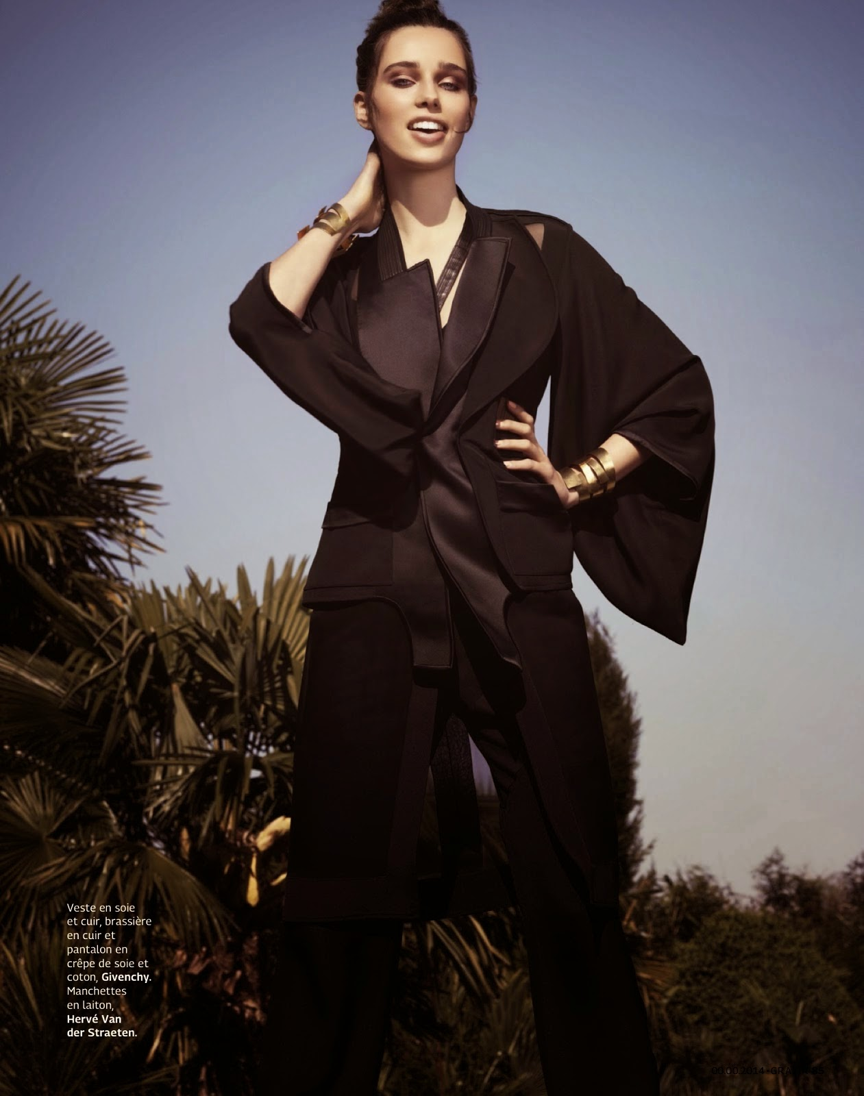 Robin Van Halteren by Naomi Yang for Grazia Magazine, France, May 2014