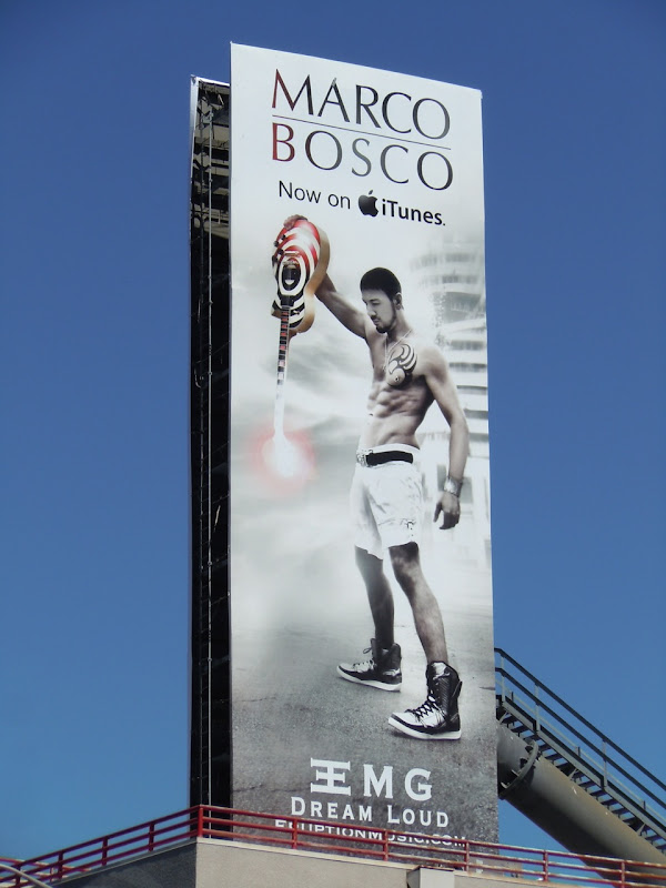 Marco Bosco music billboard