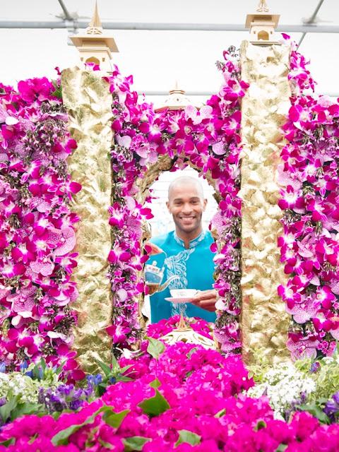 RHS Chelsea flower show, atlantis, the palms hotel