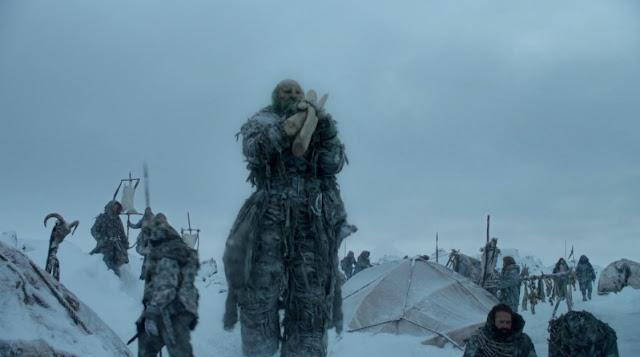 Gigante mas alla del muro tercera temporada - Juego de Tronos en los siete reinos