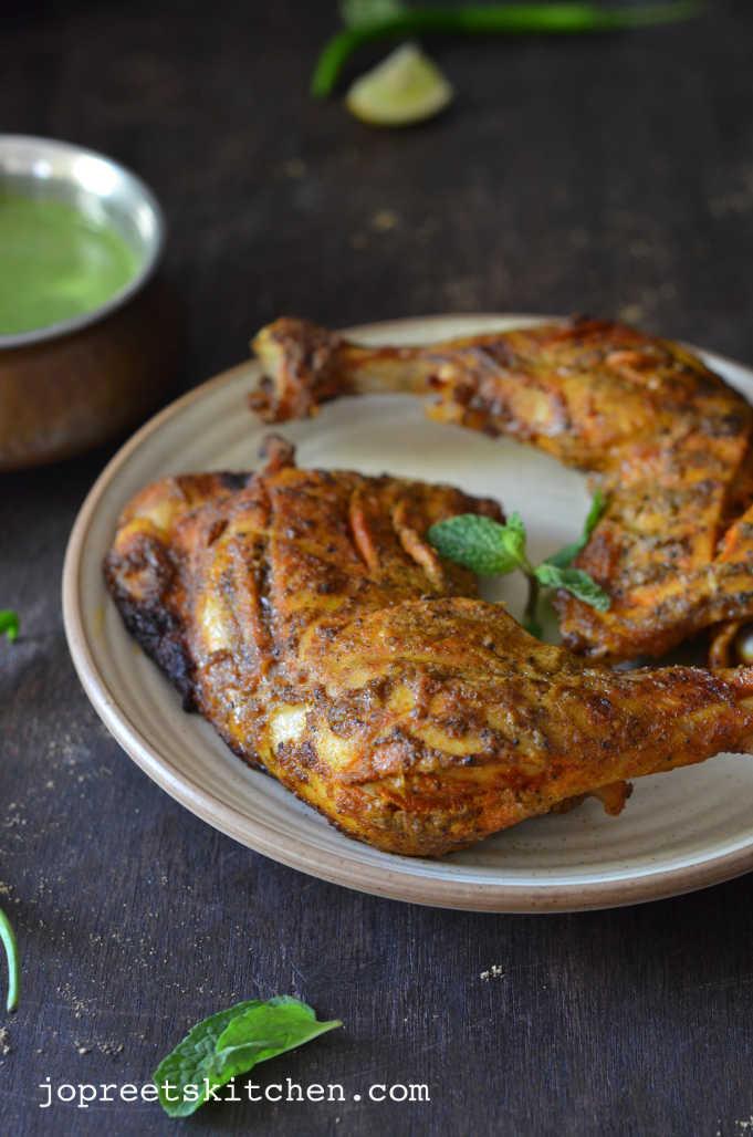 how to prepare chicken tandoori at home