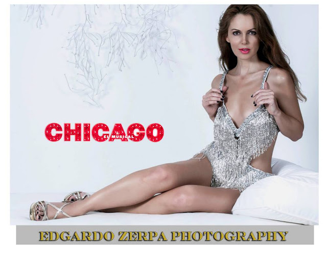 "Miami based actress Athina Kliomi makes her debut in ""Chicago"" the musical, in Venezuela"