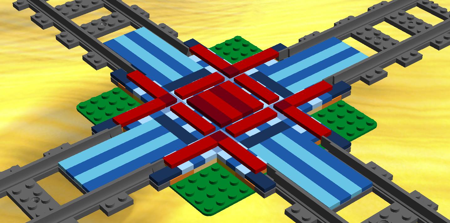 Lego Digital Designer Trains Build