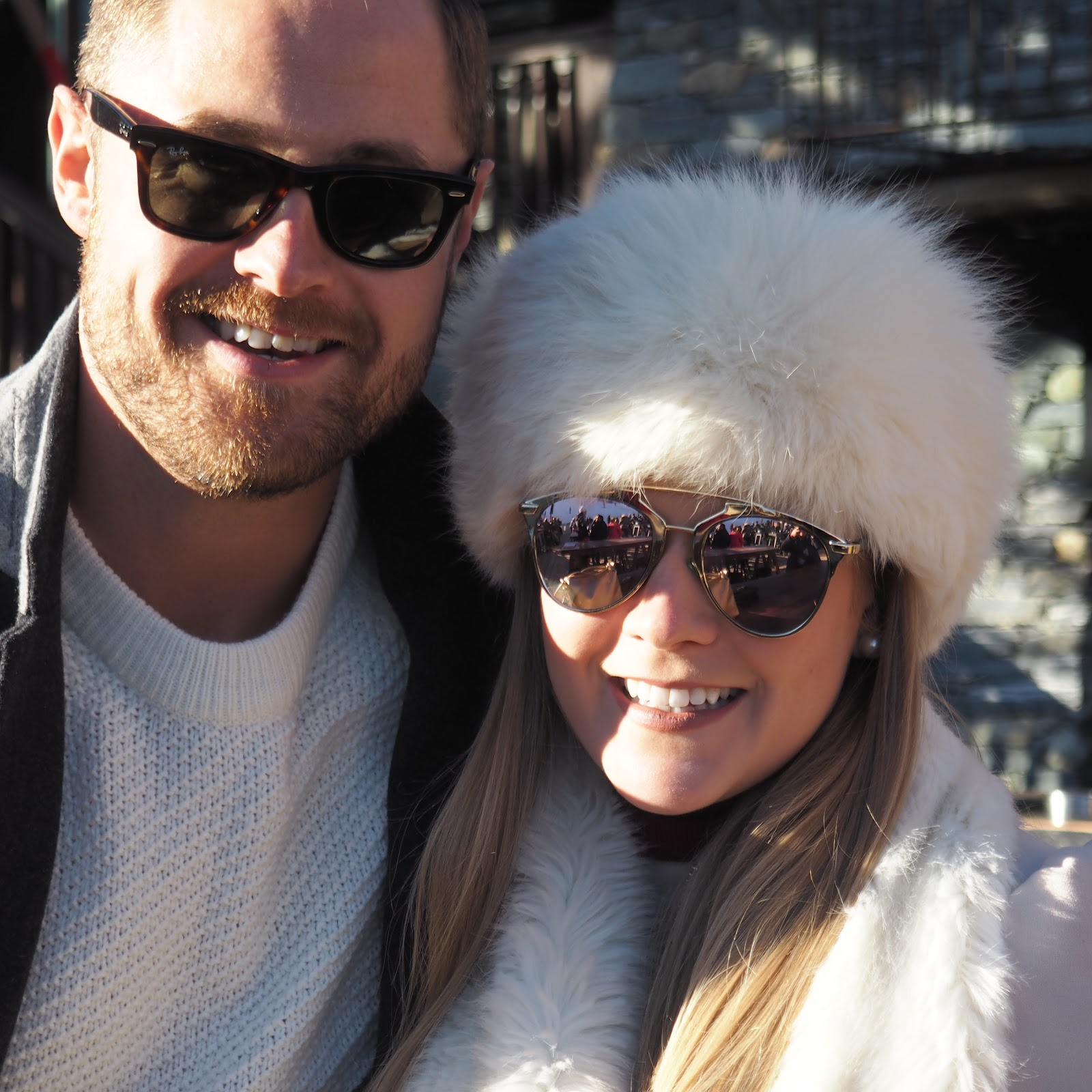Katie Matthews and Ben Heath at La Folie Douce, Val d'Isere, France