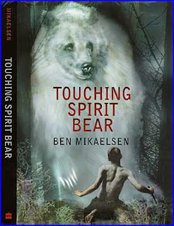 book report on touching spirit bear Touching spirit bear by ben mikaelsen starting at $099 my young teenager read a library copy of this for a school book report he raved about it so much.