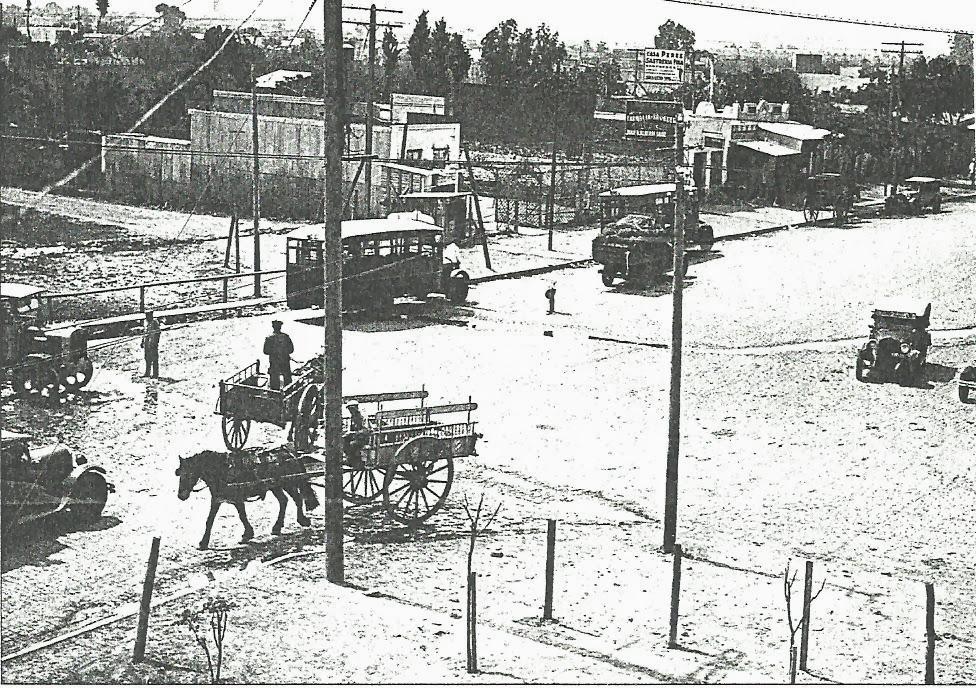 Av. Gral. Paz y Crovara año 1935