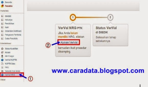 Ajukan Verval NRG
