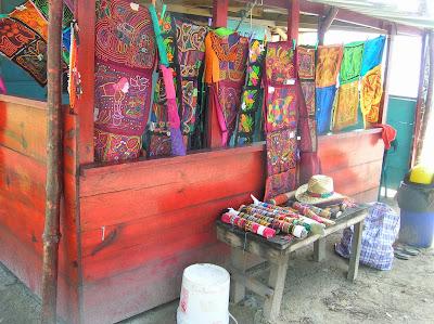 Molas, Guna Yala, San Andrés, Panamá, round the world, La vuelta al mundo de Asun y Ricardo, mundoporlibre.com