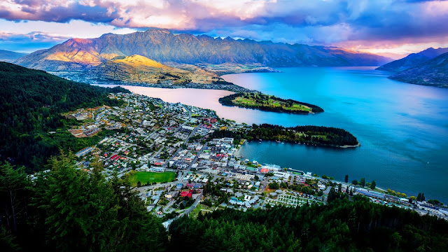 Queenstown New Zealand Wakatipu Lake HD Wallpaper