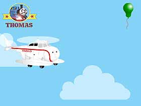 Party balloon Thomas Train Free Online Games for PRE-K Kids Harold the helicopter game free online