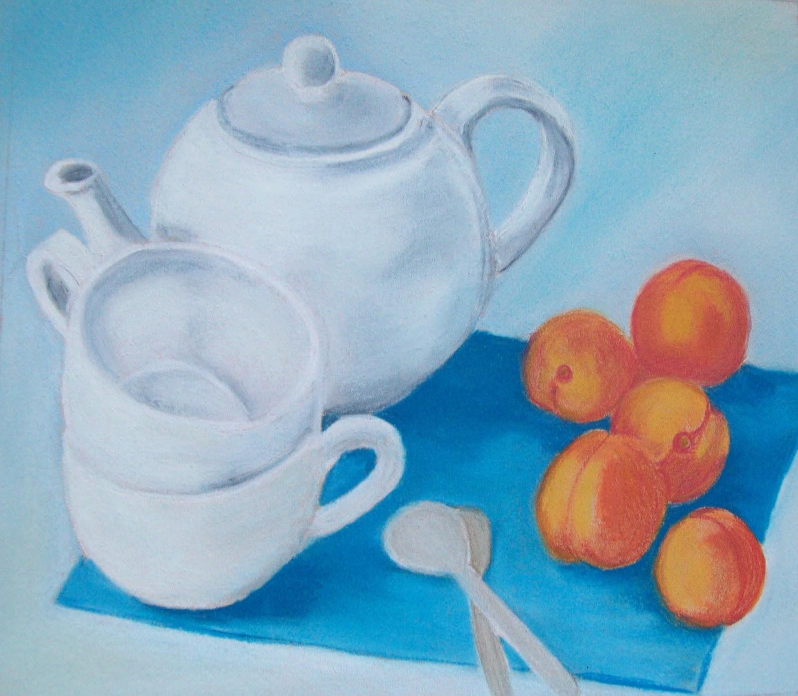 Souvent A nos pinceaux: Thé aux abricots - Défi 56 - Du 1er au 15 août 2013 BU43