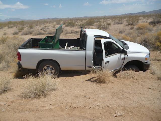 Oddech pustyni czyli co warto wozić w samochodzie