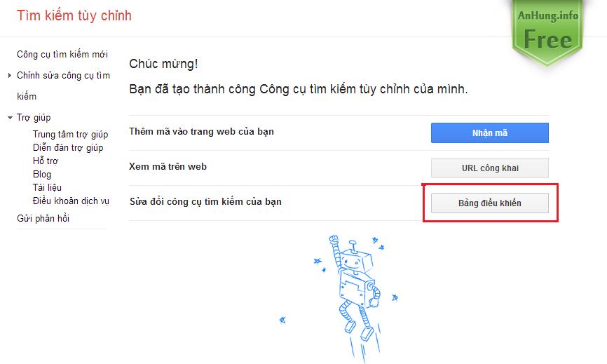 Hướng Dẫn Chèn Google Tìm Kiếm Vào Blogger, Website Dễ Dàng