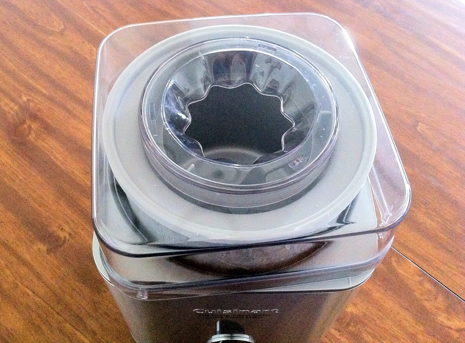 Locking Lid on Ice Cream Maker
