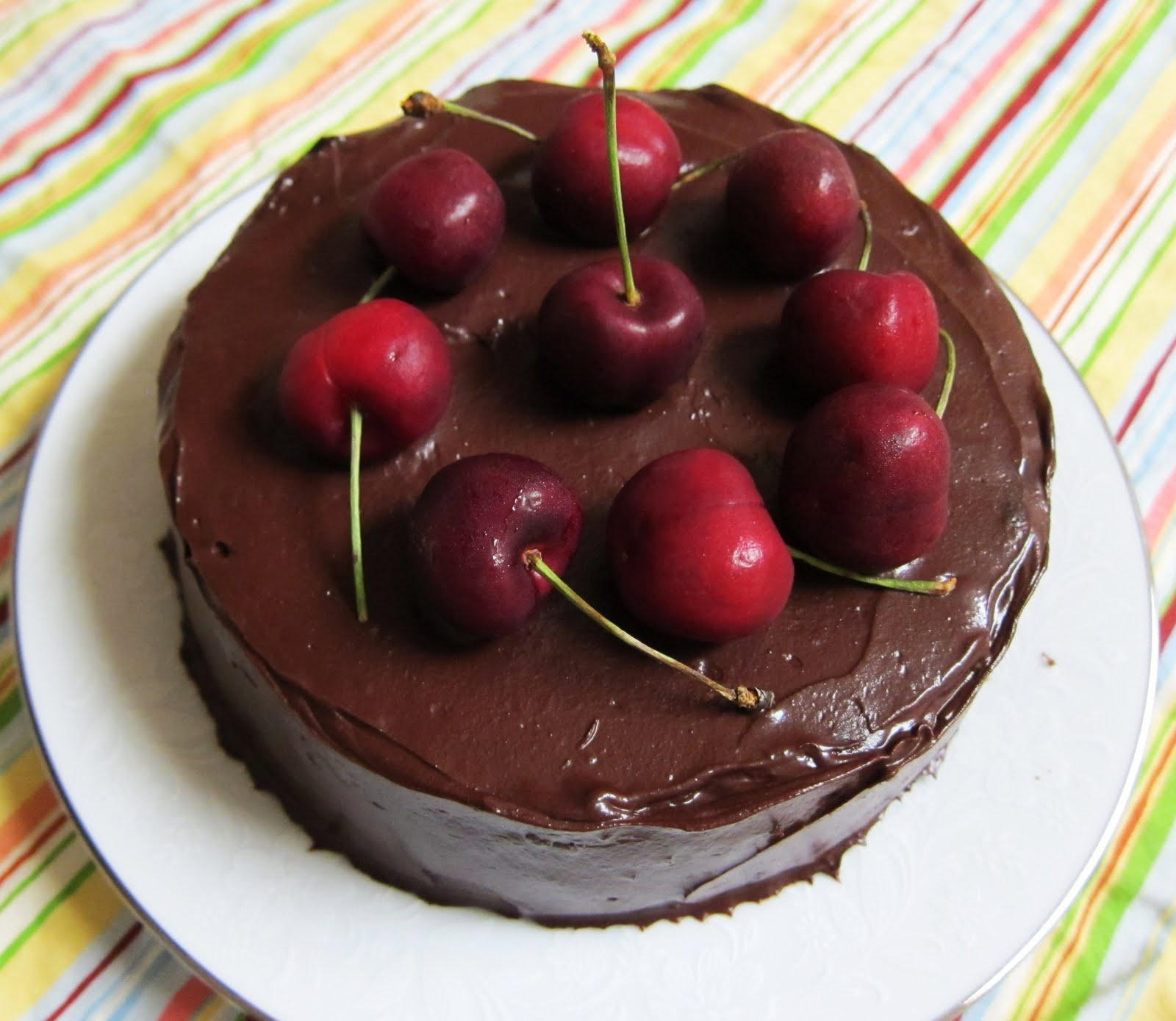 Cherry Cola Pound Cake